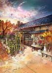 秋らしさを詰め込んだ風景画です
