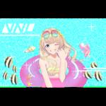 自分のメインプロフィール画像のため作成しました。 女の子の可愛さと夏の楽しさを表現しました。