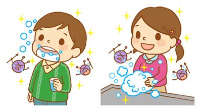 子ども・手洗いうがい
