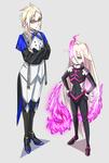 女性キャラクターと男性キャラクター