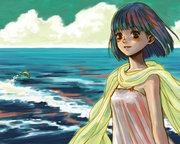 萌え立つ悠久の海