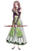 古代中国風女性