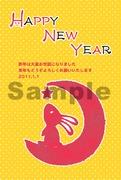 うさぎ年*年賀状(3)ナツメ社2011年賀状データ集書籍 収録イラスト