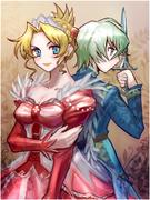 姫と少年兵(オリジナル)