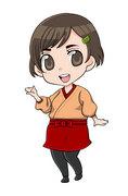 ☆作務衣少女1