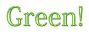 ロゴタイプ -Green!-