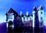 中世ヨーロッパ・ファンタジー系の城です。