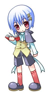 ちびキャラクター -アニメ&グラデーション塗り-