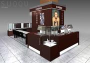 CGパース|百貨店テナント 化粧品コーナー