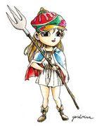 ファンタジー少女戦士