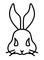 ウサギのロゴマーク
