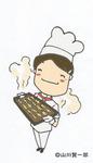 販促用のカットとして描きました。 ふかふか出来立てのパンを表現してみました。