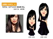 似顔絵SAMPLE_01