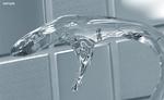 3DCG+PHOTOSHOP  透明な質感のサンプルイメージです