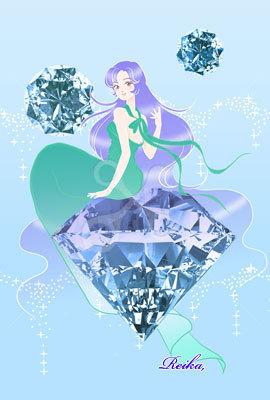 ダイヤと女の子