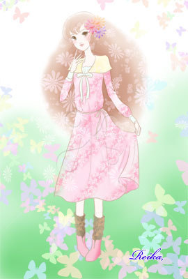 春色の女の子01