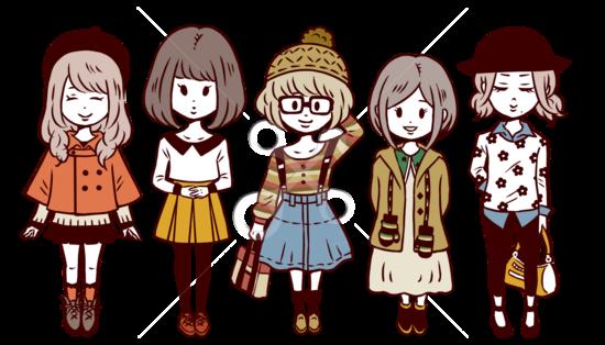 【販売】女の子5点セット(冬服)