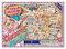 ミキちゃんシリーズ2枚目 パリオペラ界隈の地図 カラーA4チラシ作成