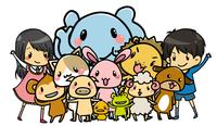 幼児向け動物イラスト(iPhone/Androidアプリ)