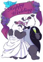 結婚式用T-シャツのイラスト
