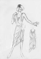 衣装のデザイン画(スタイル画)ご相談の納品作品