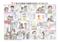 不動産会社の制作したパンフレットの使用説明のための漫画制作