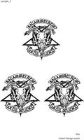 ハーレーバイクチームのロゴ制作