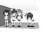 (個人観賞用)女の子がおしっこを我慢し続ける漫画