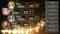 AllunaとBrieのポーズ・メニュー画面