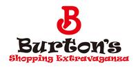 Burton's Shopping Extravaganza Logo