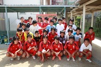 中学校サッカー部 引退試合の撮影