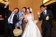 結婚式二次会の撮影