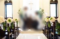 結婚式での配布物用写真