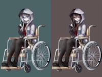 オリジナルキャラクターのイラスト製作