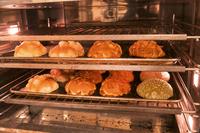 HPに使用するパンの撮影