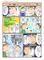高血圧、高脂血症、高尿酸血症の3部の医療漫画の作成