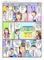 喘息、長引く咳、片頭痛の3部の医療漫画の作成依頼