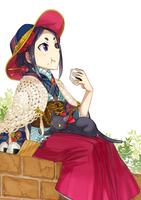 アニメキャラクターのイラスト