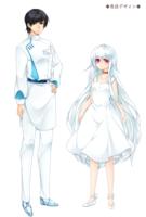 #5オリジナル小説のキャラクターイラスト制作