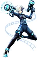 ホームページTOPのアメコミ風キャラクター制作