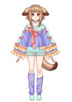 VTuberのキャラクターデザイン【PSD形式】