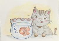 幼児絵本の挿絵作成