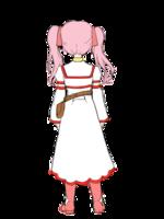 RPGキャラクター(魔法使いの少女)のデザインの納品作品