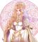 女性司祭のオリジナルキャラクターイラスト