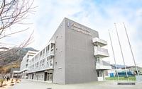 広島国際学院中学校新築への家具納品に伴う内外観撮影(アイリスチトセ(株)様)