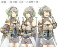 Visual Novel Character Illustration