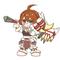ゲームキャラ→デフォルメキャラ作成(Twitter小窓用)