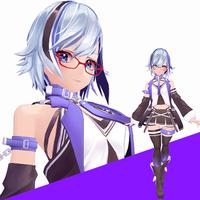 オリジナルキャラクターの3Dモデル制作