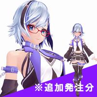 オリジナルキャラクターの3Dモデル制作(追加発注分1)