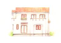 かわいい家のイラストをお願いします